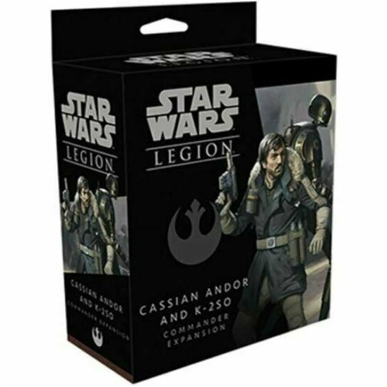Star Wars Legion - Cassian Andor and K-2SO New