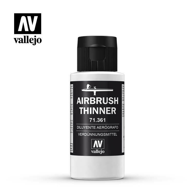 Vallejo Airbrush Thinner 60ml VAL71361 New - TISTA MINIS