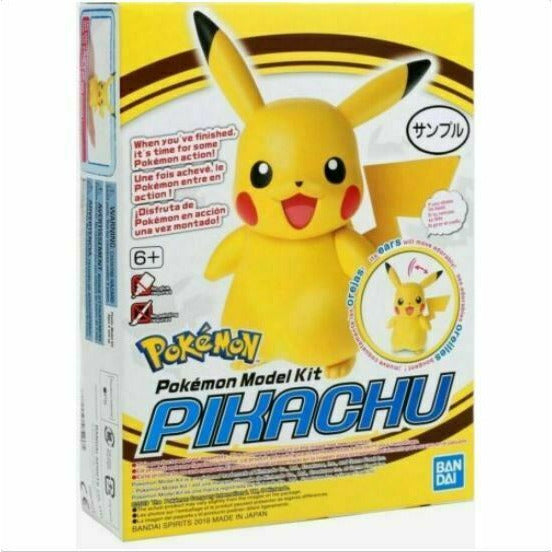 Bandai POKEMON MODEL KIT PIKACHU NEW