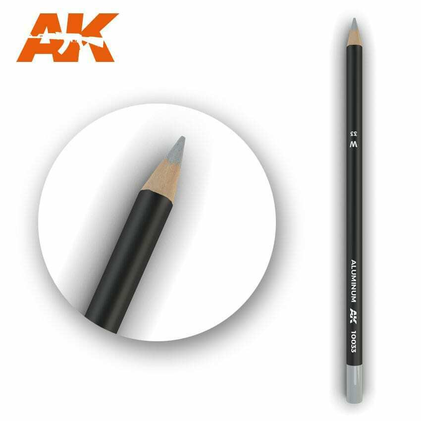 AK Interactive Watercolor Pencil Aluminum New - TISTA MINIS