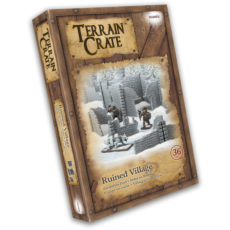 Terraincrate: Ruined Village New  - MGTC209
