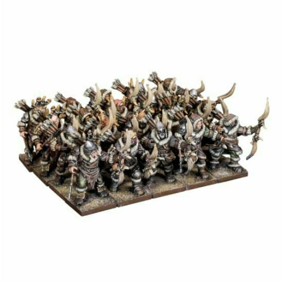 Kings of War - Northern Alliance Pack Hunters Regiment New - TISTA MINIS
