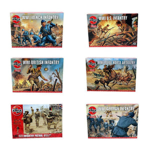 Airfix World War 1 WW1 1:72 Infantry Box - Multiple Options | TISTAMINIS