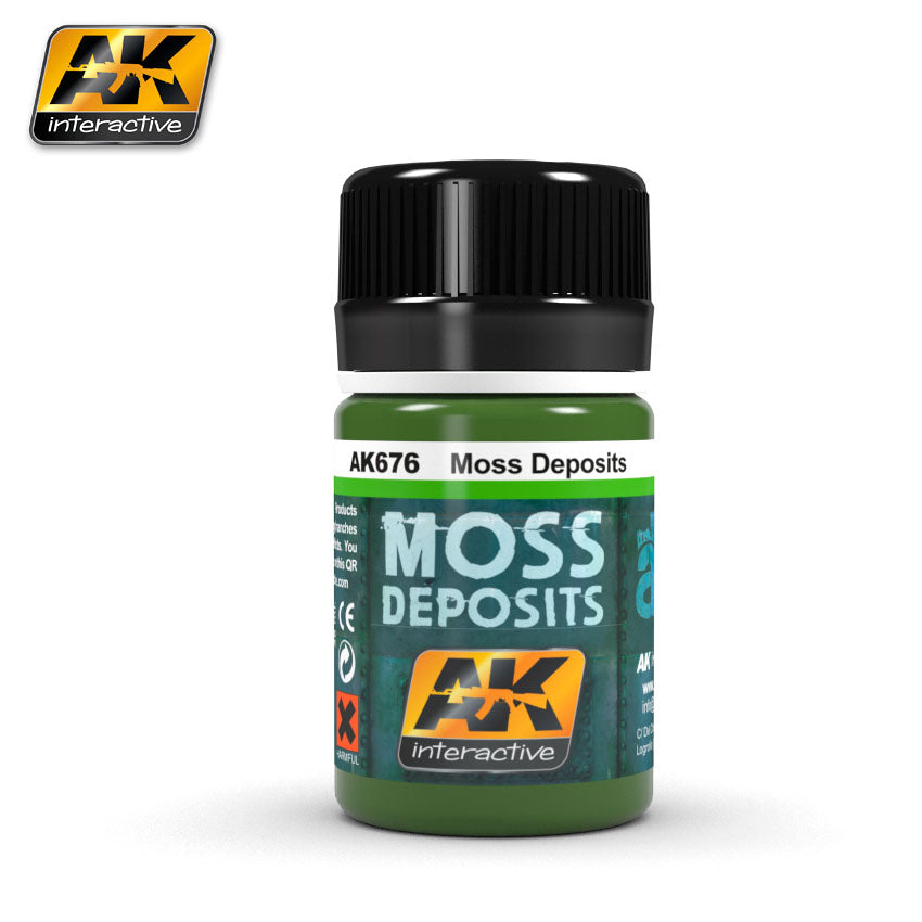 AK Interactive Weathering Moss Deposits 35 ml New (AK676)