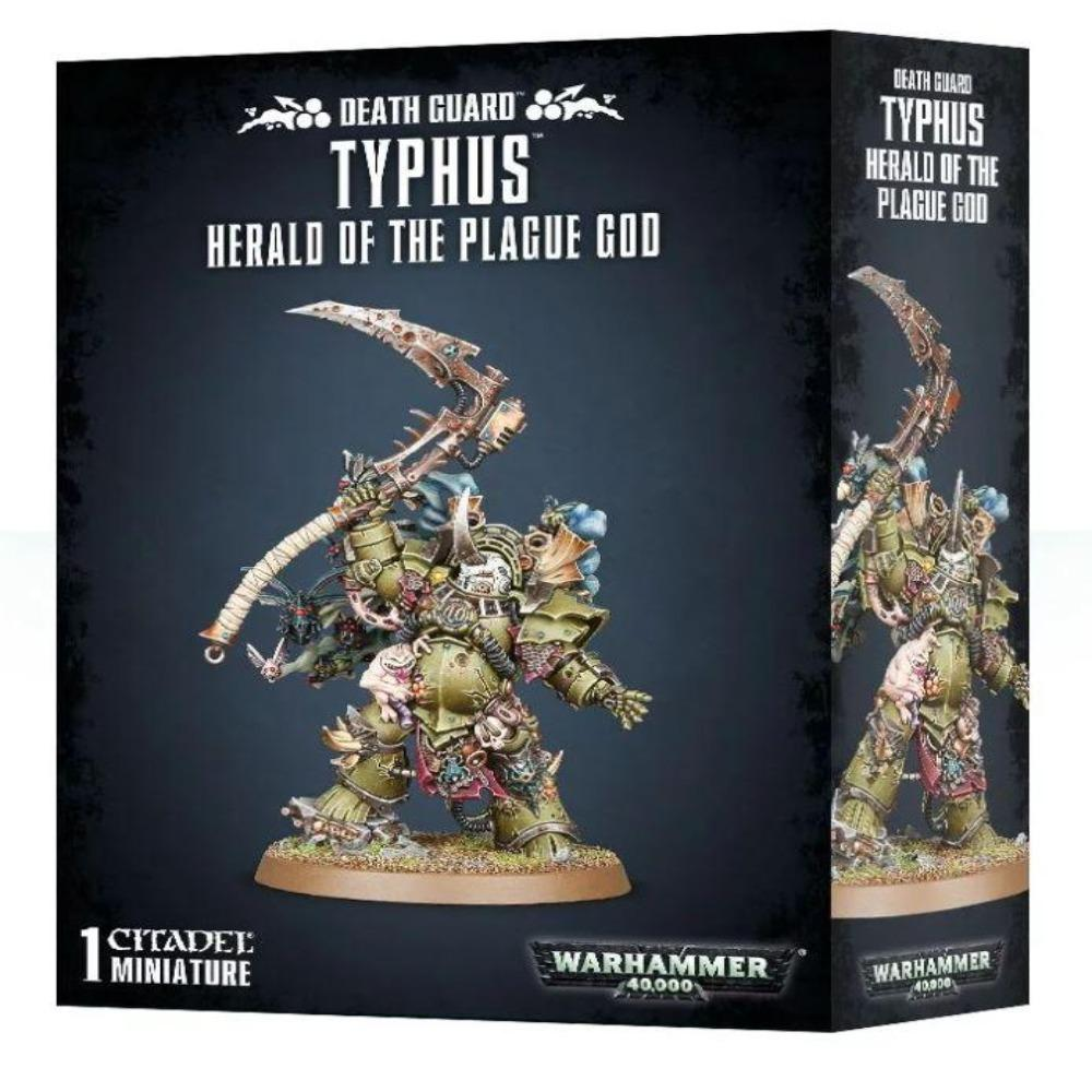 Warhammer Death Guard Typhus Brand New