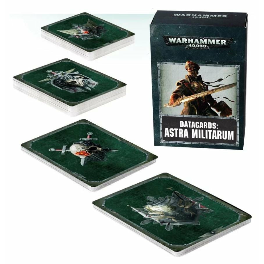 Warhammer Imperial Guard Datacards Astra Militarum New | TISTAMINIS