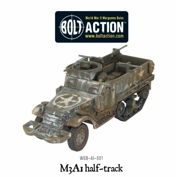 Bolt Action M3A1 Half-Track New | TISTAMINIS
