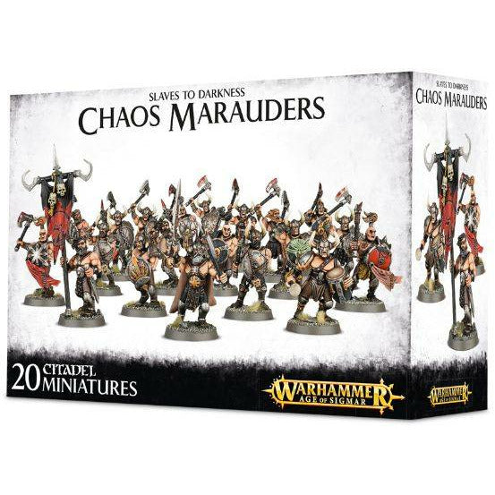 Warhammer Warriors of Chaos Chaos Marauders New - TISTA MINIS