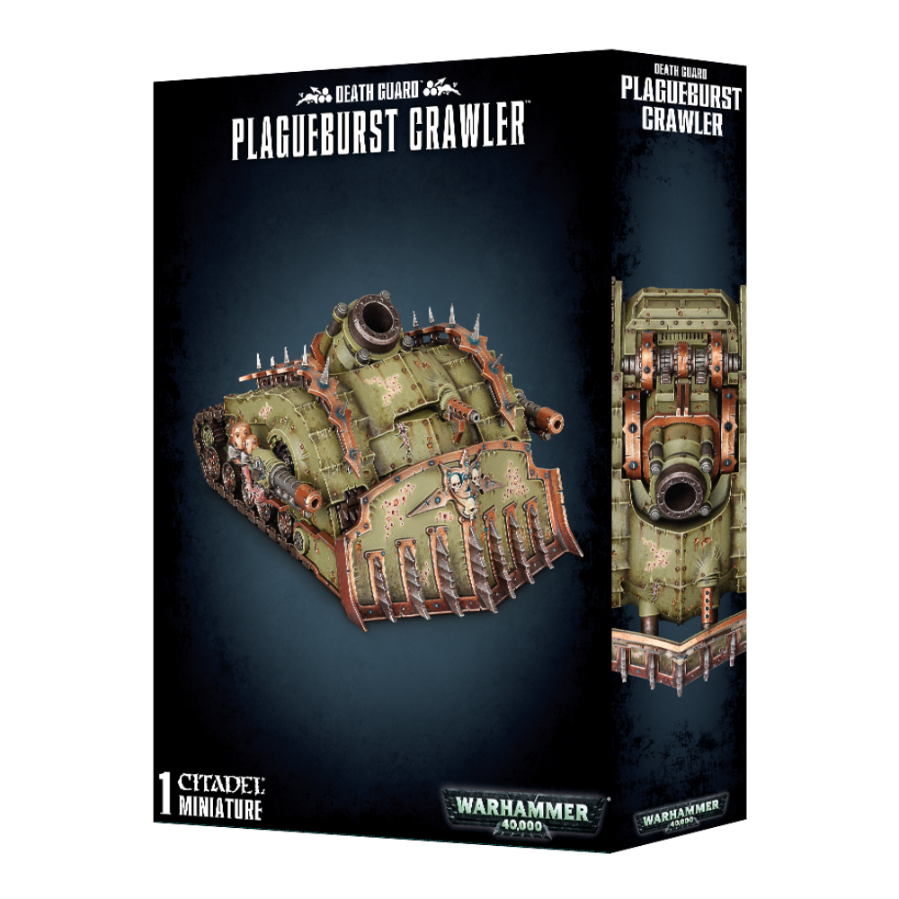 Warhammer Death Guard Plagueburst Crawler New