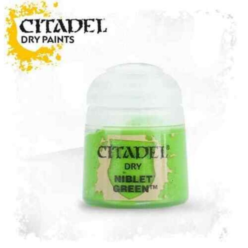 Niblet Green - Dry Paints - TISTA MINIS