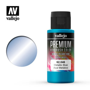 Vallejo Premium Color Paint Metallic Blue 60 ml (62.046) - TISTA MINIS