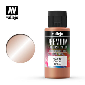 Vallejo Premium Color Paint Copper 60 ml (62.050) - TISTA MINIS