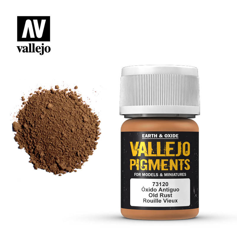 Vallejo Pigments Old Rust (73.120) - TISTA MINIS