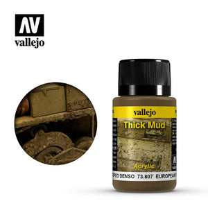 Vallejo European Mud Weathering Effects (73.807) - TISTA MINIS