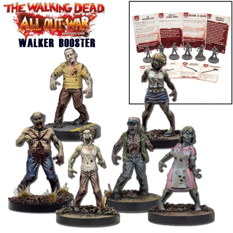The Walking Dead: W1 Walker Booster New - TISTA MINIS