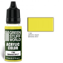 Green Stuff World Acrylic Color BANANA SPLIT New - Tistaminis
