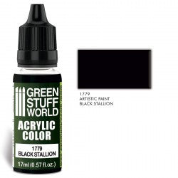 Green Stuff World Acrylic Color BLACK STALLION New - Tistaminis