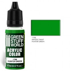 Green Stuff World Acrylic Color HUNTER GREEN New - Tistaminis