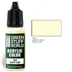 Green Stuff World Acrylic Color IVORY TUSK New - Tistaminis