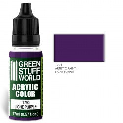 Green Stuff World Acrylic Color LICHE PURPLE New - Tistaminis