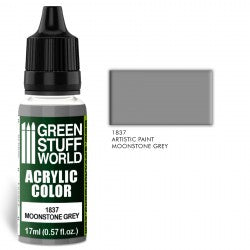 Green Stuff World Acrylic Color MOONSTONE GREY New - Tistaminis