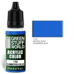 Green Stuff World Acrylic Color SUMMERSEA BLUE New - Tistaminis