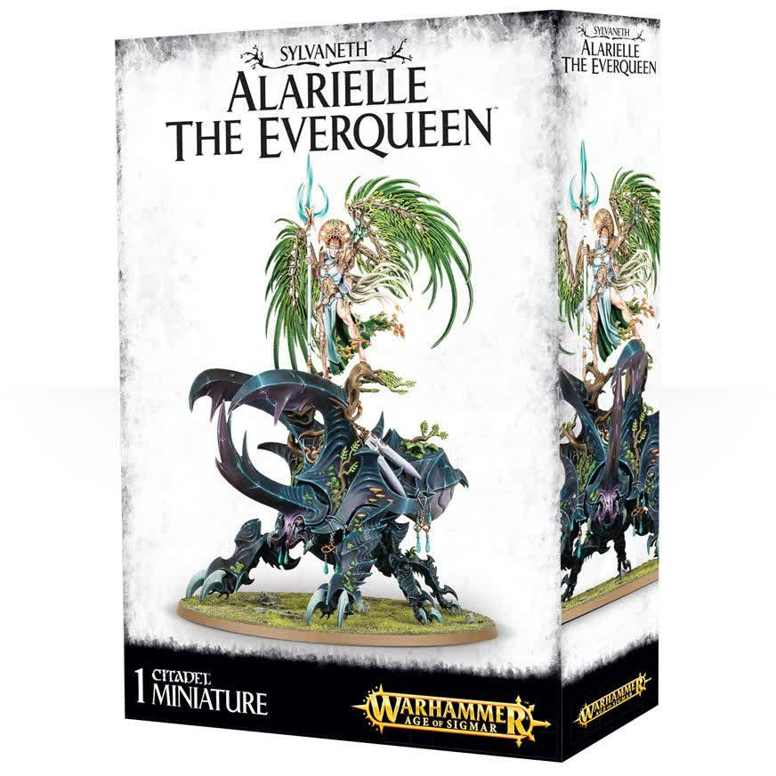 Warhammer Sylvaneth Wood Elves Alarielle The Everqueen New