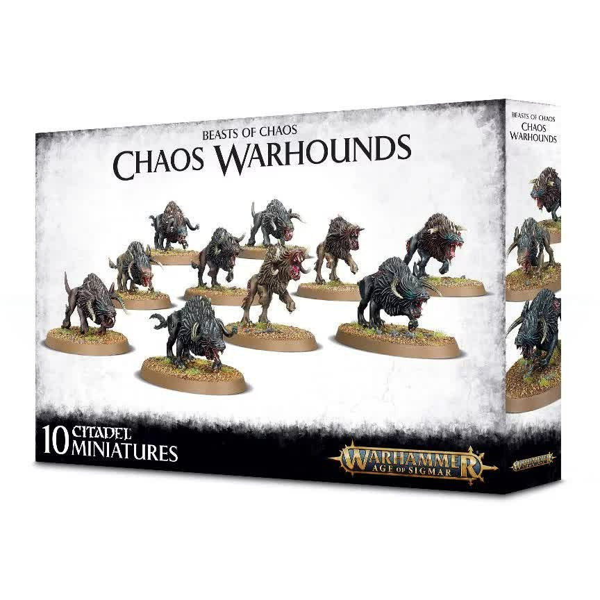 Warhammer Warriors of Chaos Warhounds New | TISTAMINIS