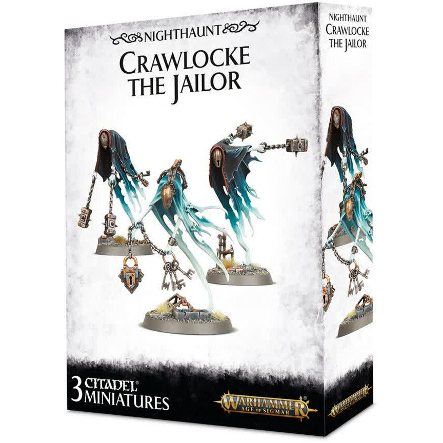 Warhammer Vampire Counts Nighthaunt Crawlocke The Jailer and Chainghasts New | TISTAMINIS