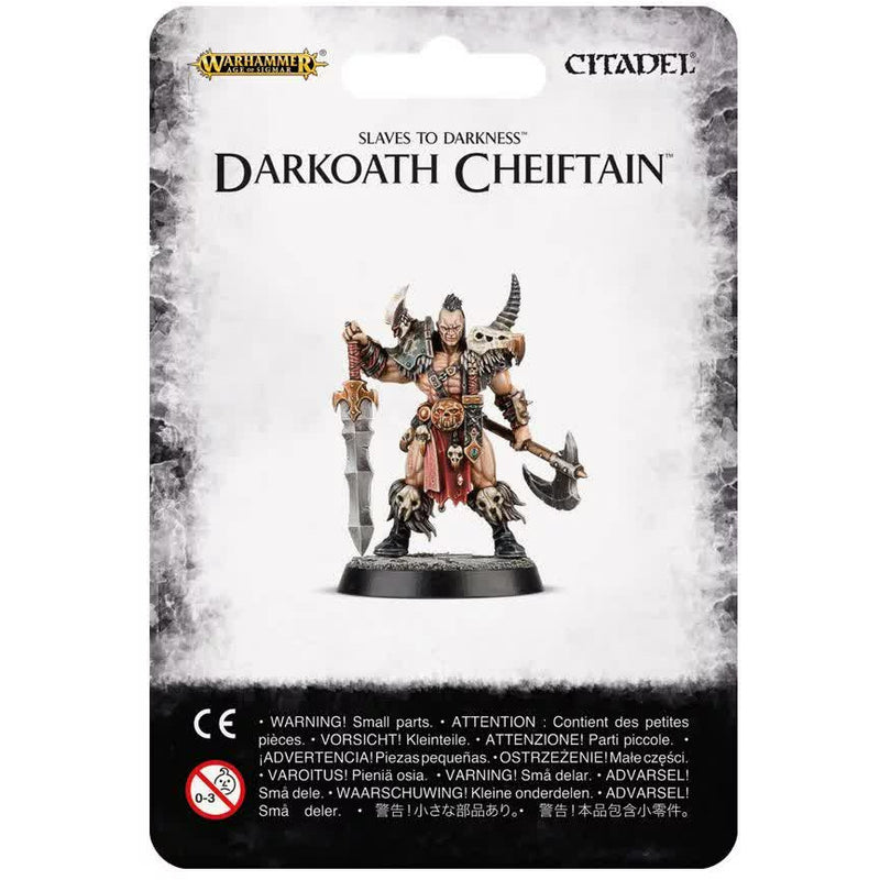 Warhammer Warriors of Chaos Darkoath Chieftain New | TISTAMINIS
