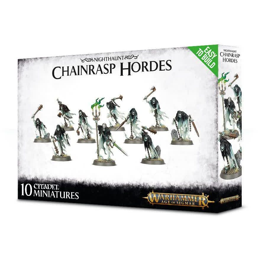Warhammer Vampire Counts Nighthaunt Chainrasp Hordes Easy to Build New | TISTAMINIS