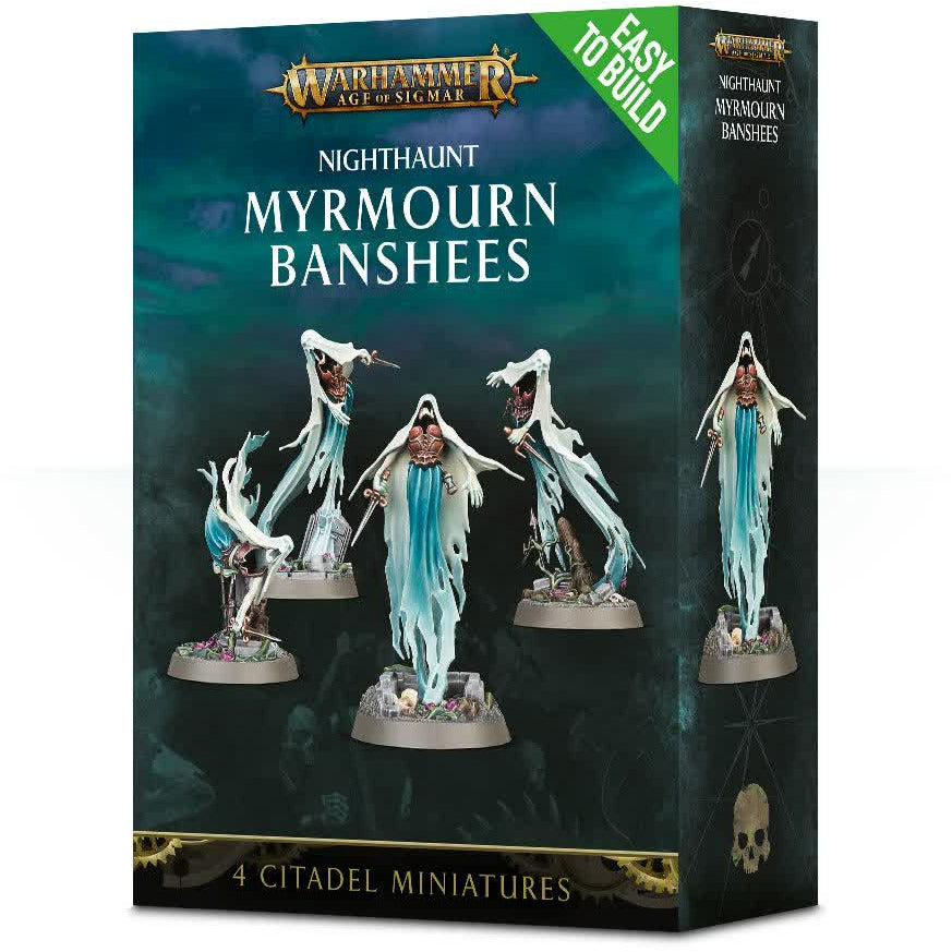 Warhammer Vampire Counts Nighthaunt Mymourn Banshees Easy to Build New