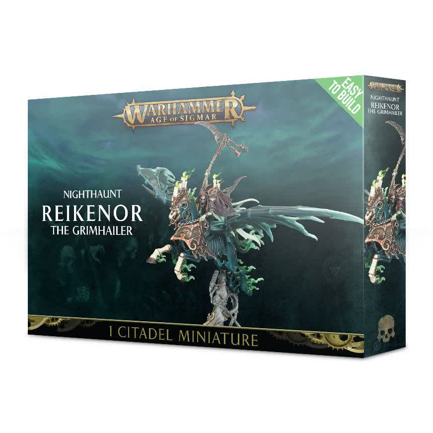 Warhammer Vampire Counts Nighthaunt Reikenor the Grimhailer New | TISTAMINIS