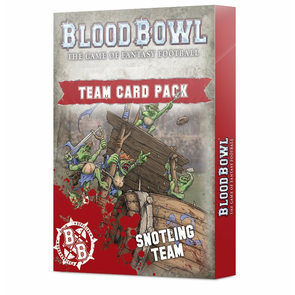 Warhammer BLOOD BOWL: SNOTLING TEAM CARD PACK New