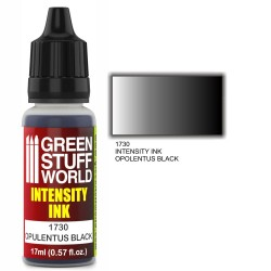Green Stuff World Intensity Ink OPULENTUS BLACK New - Tistaminis
