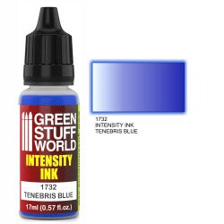 Green Stuff World Intensity Ink TENEBRIS BLUE New - Tistaminis