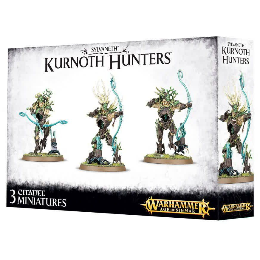Warhammer Wood Elves Kurnoth Hunters New