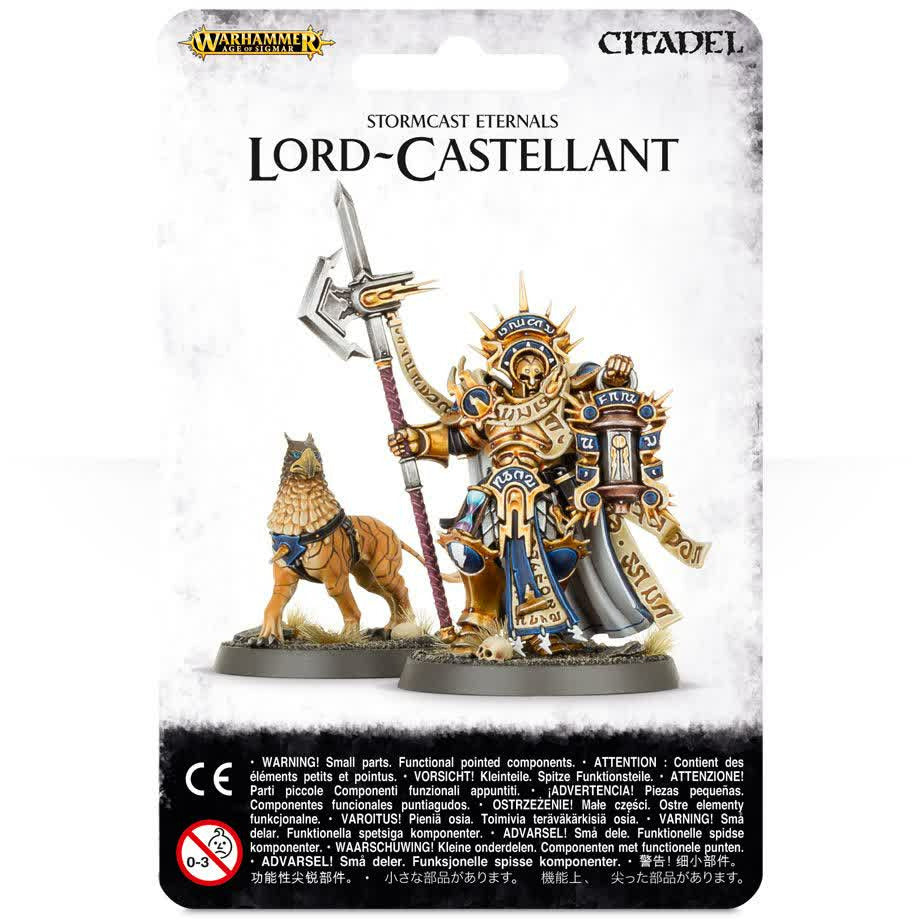 Warhammer Stormcast Eternals Lord Castellant with Gryph Hound New | TISTAMINIS