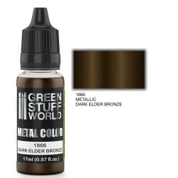 Green Stuff World Metallic Paint DARK ELDER BRONZE New - Tistaminis