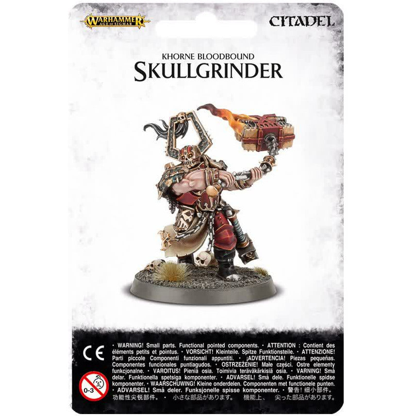 Warhammer Warriors of Chaos Bloodbound Skullgrinder New | TISTAMINIS
