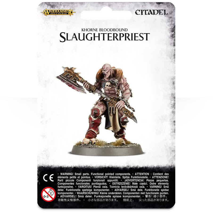 Warhammer Warriors Of Chaos Slaughterpriest New | TISTAMINIS
