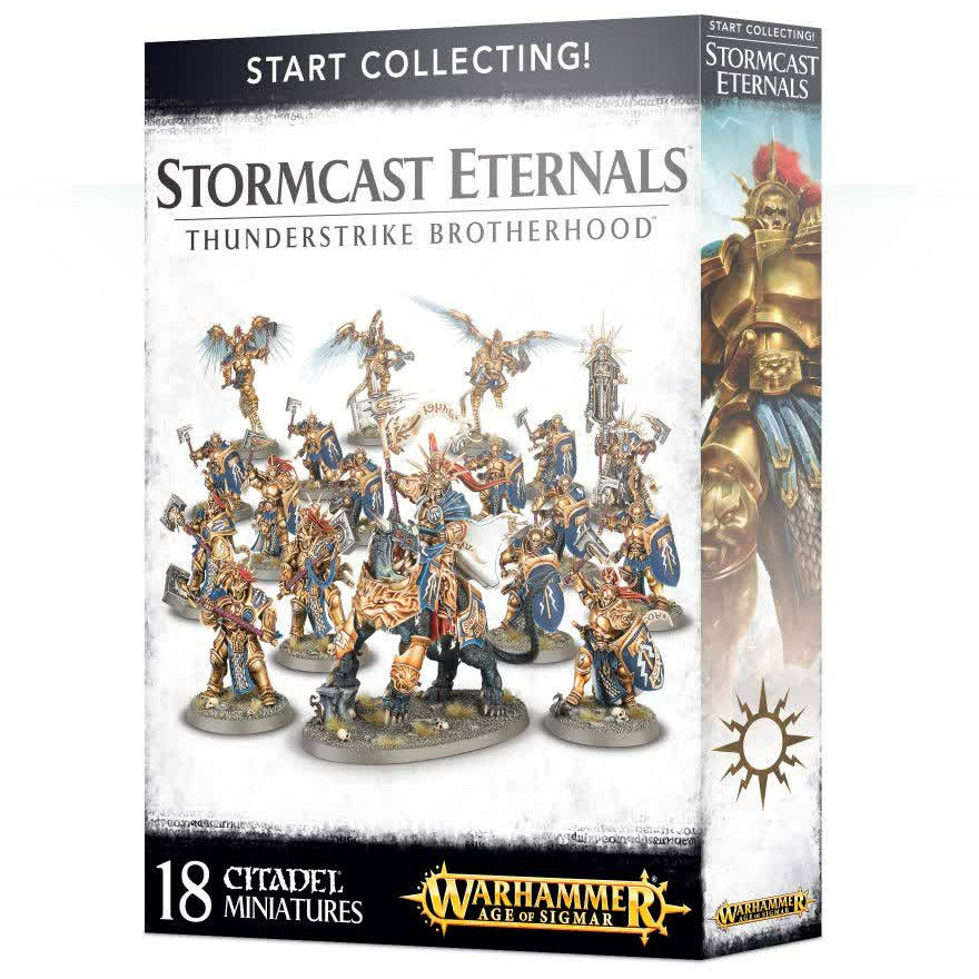 Warhammer Stormcast Eternals Thunderstrike Brotherhood Start Collecting! New | TISTAMINIS