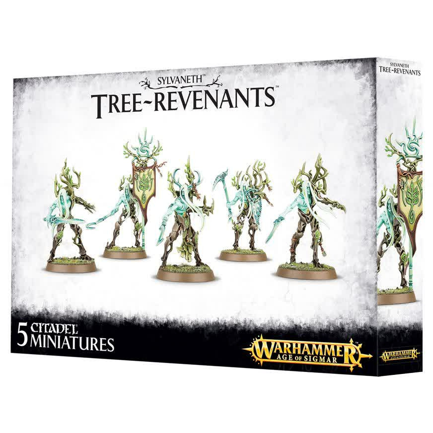 Warhammer Wood Elves Tree Revenants New