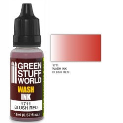 Green Stuff World Wash Ink BLUSH RED New - Tistaminis