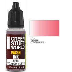 Green Stuff World Wash Ink PECATUM FLESH New - Tistaminis