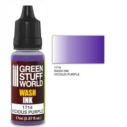 Green Stuff World Wash Ink VICIOUS PURPLE New - Tistaminis