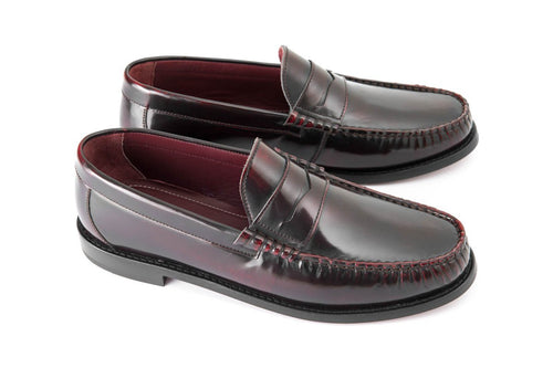 Penny Loafers Oxblood