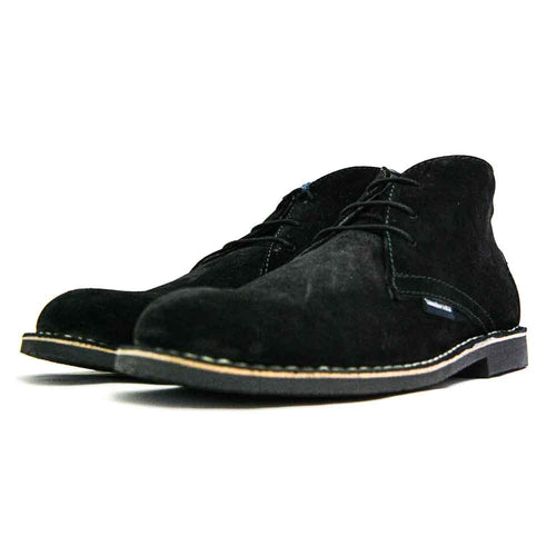 Carnaby II 3 eye Desert Boot Black