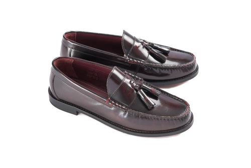 Tassel Loafer Bordo