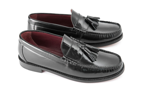 Tassel Loafer  Black
